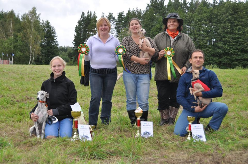 Lietuvos Lure Coursing TOP 2016